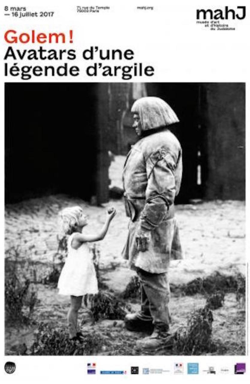 [EXPO] 08.03→16.07 – GOLEM ! AVATARS D'UNE LÉGENDE D'ARGILE – MUSÉE D'ART ET D'HISTOIRE DU JUDAÏSME PARIS