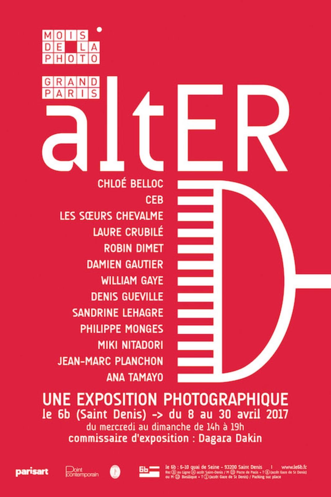 [FESTIVAL] 08→30.04 – ALTER AU 6B À L'OCCASION DU MOIS DE LA PHOTO DU GRAND PARIS