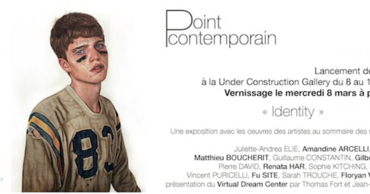 IDENTITY – EXPOSITION-LANCEMENT DE LA REVUE POINT CONTEMPORAIN #4