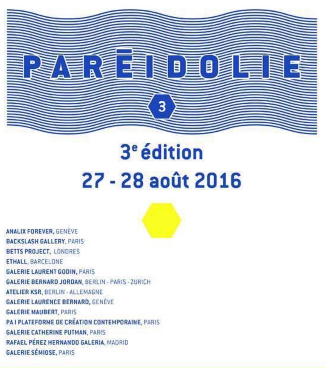 PARÉIDOLIE SALON INTERNATIONAL DU DESSIN CONTEMPORAIN – MARSEILLE