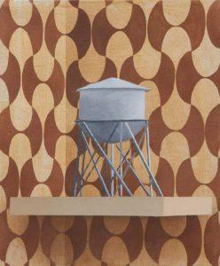 Sépànd Danesh, Water tower, 55 x46 cm, 2017