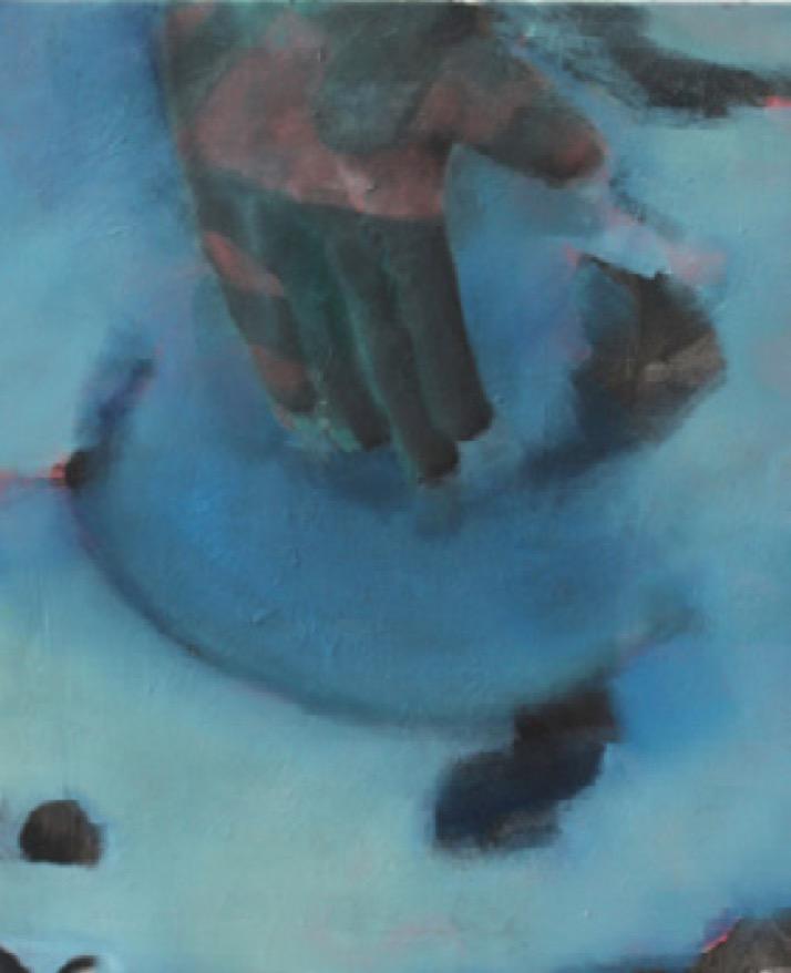 Claudio Coltorti - Sans Titre - 2016 - Huile sur toile - 70 x 50 cm - Courtesy Galerie Maïa Muller – Exposition Seuls ensemble H Gallery