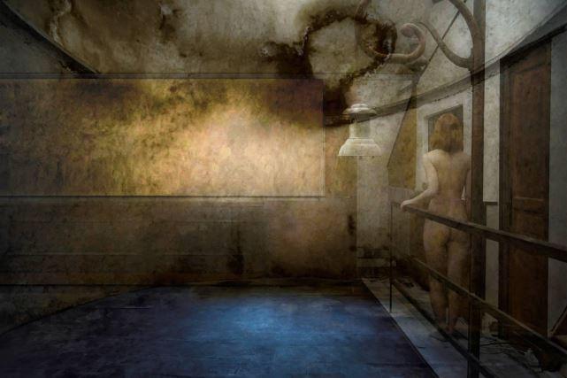 Gilles Desrozier - série - 14 Etats de la passion amoureuse, Extase Ivresse 60X90cm 2015 - EXPOSITION N°1 - Galerie Goutal Aix-en-Provence
