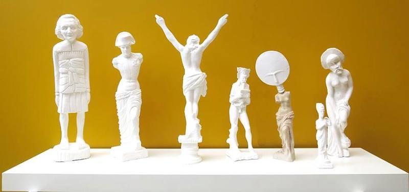 Exposition ;-) Galerie Under Construction, Paris.