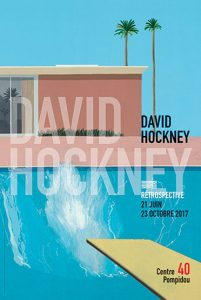 CENTRE POMPIDOU - Retrospective David Hockney - 21.06→23.10