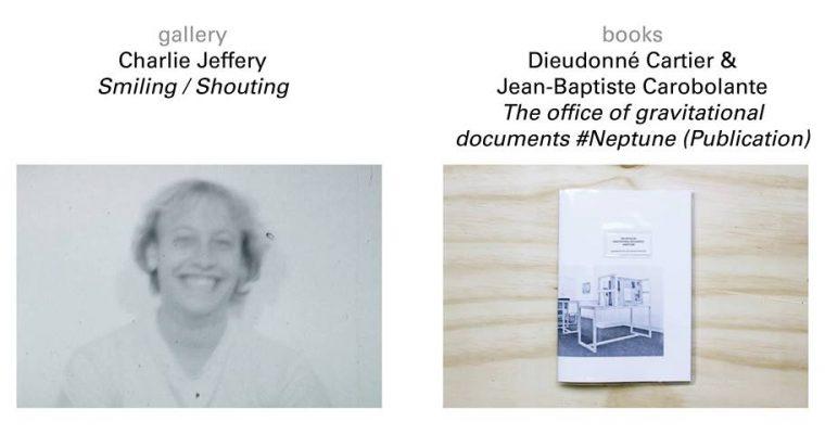 [EXPOS] 08 au 29.07 –Charlie Jeffery/ Dieudonné Cartier & Jean-Baptiste Carobolante – GalerieFlorence Loewy Paris
