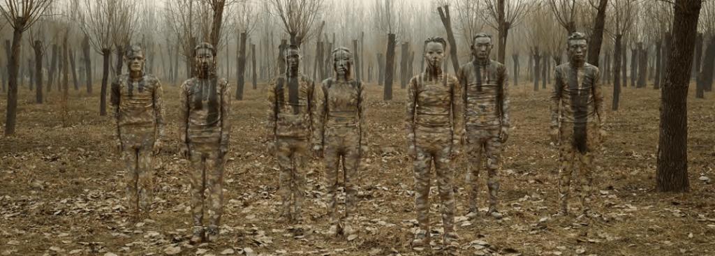Liu Bolin_The Winter Solstice_2016_galerie Paris-Beijing