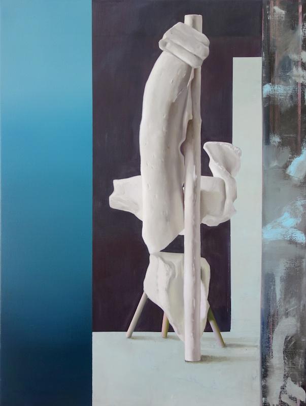 Maude Maris, France, 120x90cm, huile sur toile, 2017 - courtes Galerie Isabelle Gounod