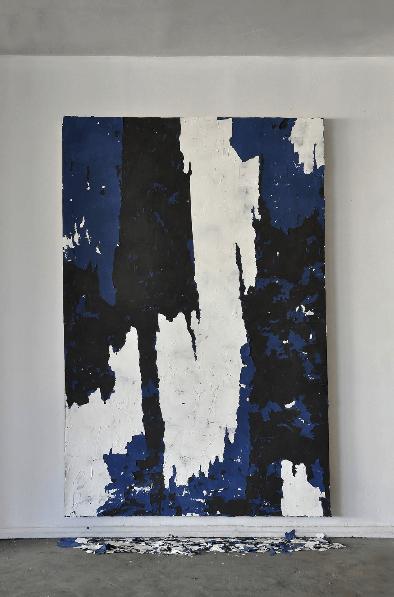 Manoela Medeiros,Ruine # 1, 2016_Double V Gallery_falling walls