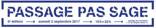 Passage pas sage_Passage des Gravilliers_paris_2017