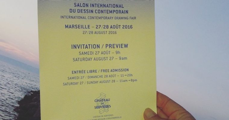 [Salon] 27 ▷ 28/08 – Pareidolie, salon international du dessin contemporain- Marseille