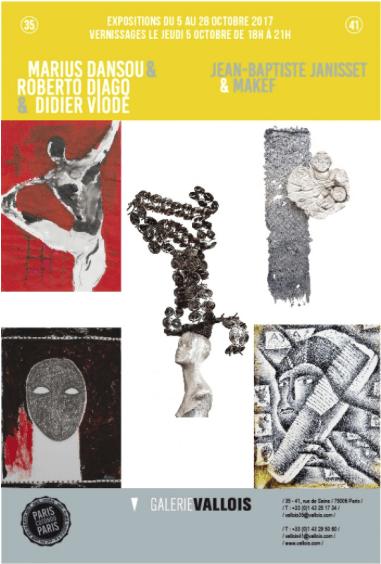 exposition_Paris-Cotonou-Paris_Galerie Vallois