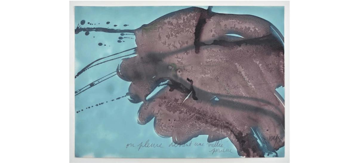 [EXPOSITION ] 13/01 ▷ 10/03 – Jean Messagier – On pleure devant une vallée perdue – Galerie Catherine Putman – Paris