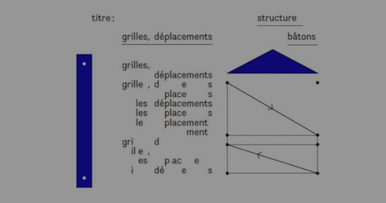 [EXPOSITION] 07/12 ▷ 26/01 – Structure Bâtons– grilles, déplacements – Galerie Tator – Lyon