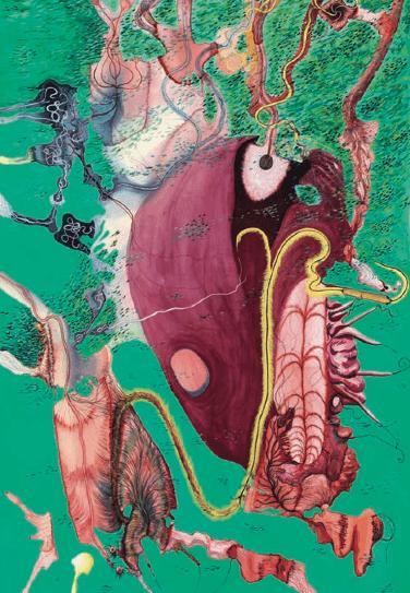 Lucie Picandet_La flore intestinale_Paysages intérieurs 4_2017