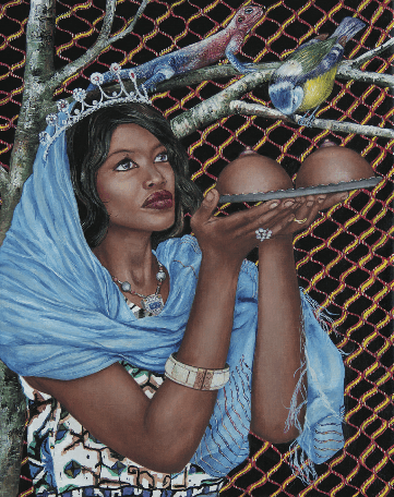 Nazanin Pouyandeh, Sainte Agathe De Catane,Galerie Sator
