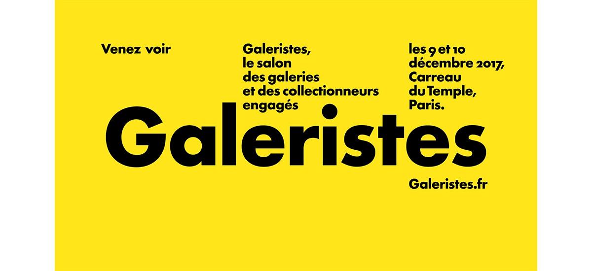 [SALON] 09▷10/12 – GALERISTES – CARREAU DU TEMPLE PARIS