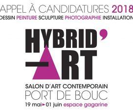 ▷16/03- APPEL À CANDIDATURES –HYBRID'ART le Salon d'art contemporain de Port de Bouc 2018