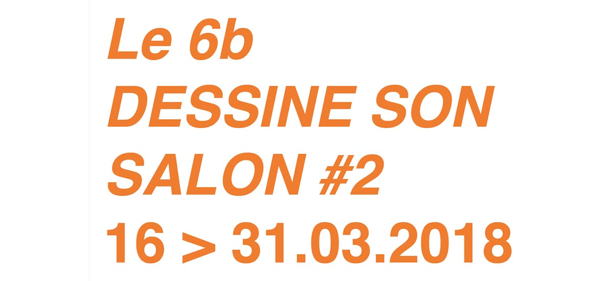 [APPEL À PROJET] Le 6b DESSINE SON SALON#2