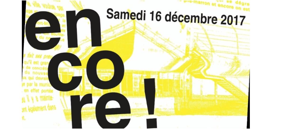 [Ouverture] 16/12 – nouveau Confort Moderne – Poitiers