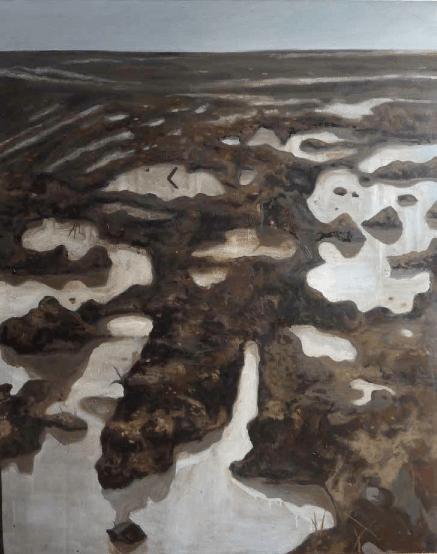Éric Monbel_La boue_Exposition_Mycorhizes_Espace d'exposition du Millénaire_La Madeleine