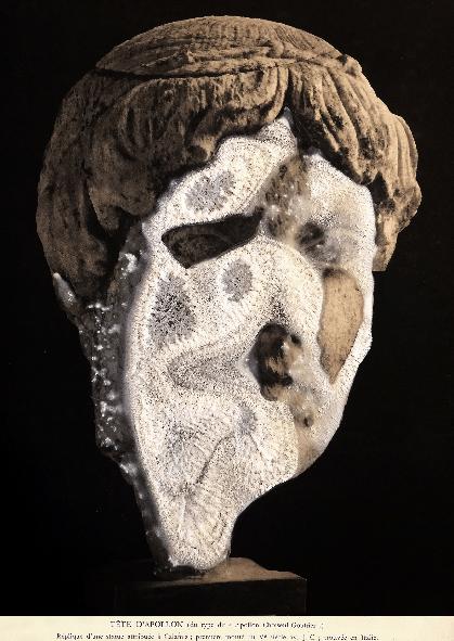 Head Of Appolo_Simon Rulquin_Galerie Odile Ouizeman_Interstellaire
