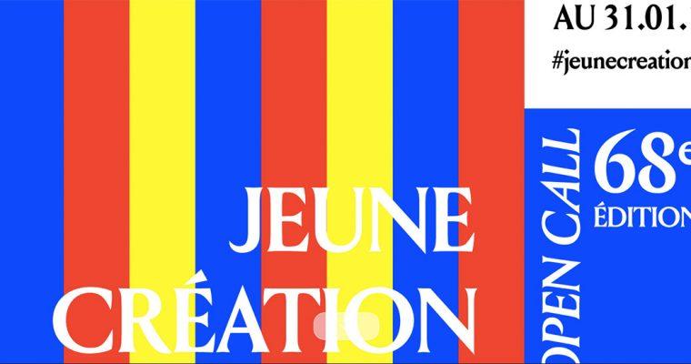[APPEL À CANDIDATURES] 68E ÉDITION DE JEUNE CRÉATION – EXPOSITION INTERNATIONALE D'ART CONTEMPORAIN