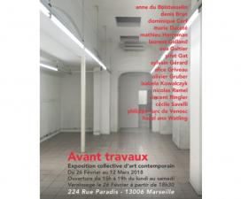 26/02▷12/03 – AVANT TRAVAUX– 224 RUE PARADIS MARSEILLE