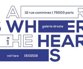 15▷27/02 – GALERIE DROSTE GOES TO PARIS – ART IS WHERE THE HEART IS – VOL. 2  – PARIS 03