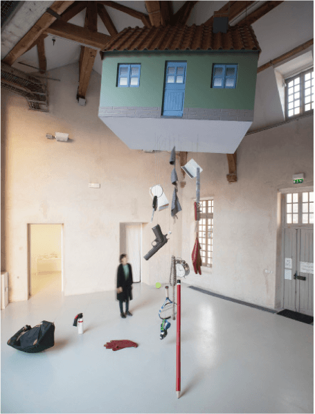 Jeanne Susplugas, Flying house_Centre d'art bastille