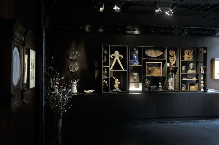 Vue de l'exposition «Cabinet Da-End 07», mars 2017 Courtesy Galerie Da-End