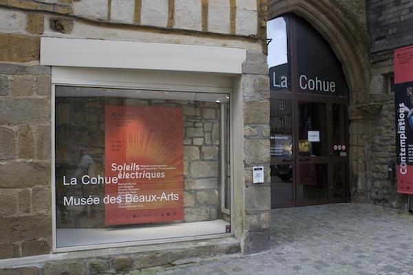 exposition_Soleils électriques - Musée des Beaux-Arts de Vannes