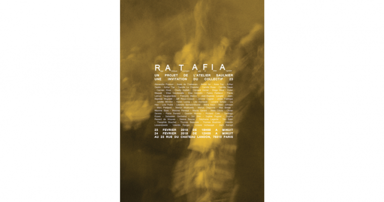 23 & 24/02 – R.A.T.A.F.I.A – COLLECTIF 23 PARIS