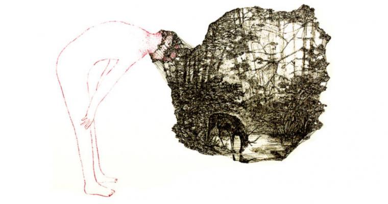 09/03▷07/04 – NATHALIE TACHEAU – DESSINS DE MÉMOIRE – UN DÉSIR SOUS L'IMAGE – GALERIE DE LA VOÛTE PARIS