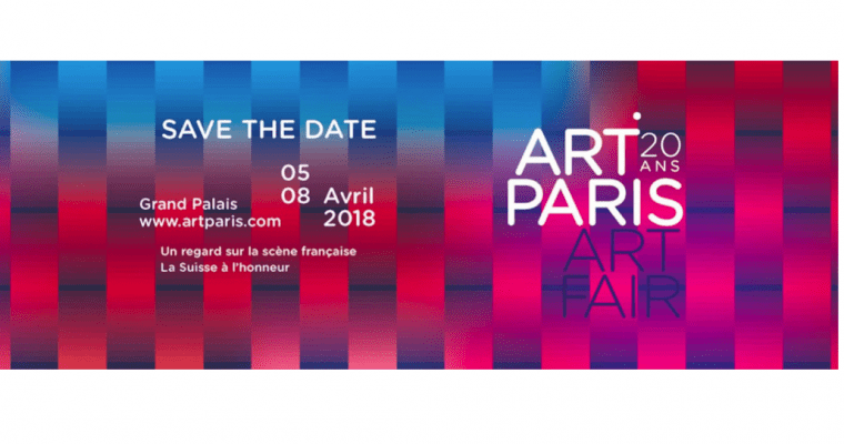 05▷08/04 – ART PARIS ART FAIR 2018 – Grand Palais Paris