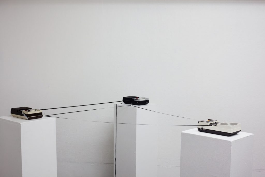 Adam Basanta_Message Past Future_exposition_Bruyantes Mécaniques_Plateforme Paris