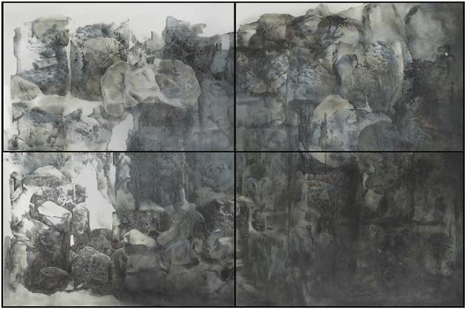 Hélène Muheim_Underneath the ooze_Exposition_Entre les mondes - Galerie Graphem Paris