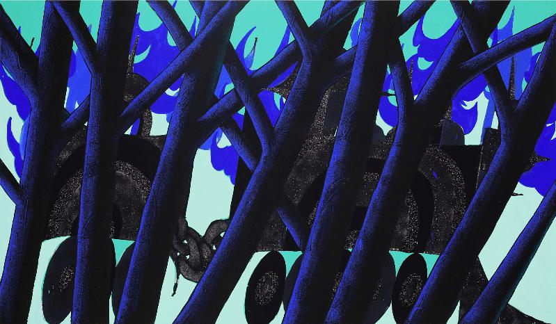 "Ludovik Myers ""ILK""_la cages aux fauves_double v gallery_marseille"