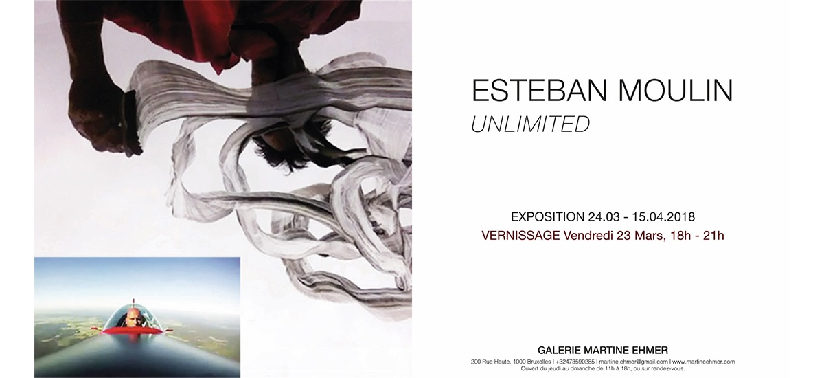 24/03▷15/04 – ESTEBAN MOULIN – UNLIMITED – GALERIE MARTINE EHMER BRUXELLES
