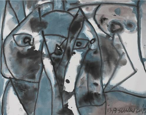 A-Sun Wu_Darking Papers_exhibition _baudoin lebon_Paris