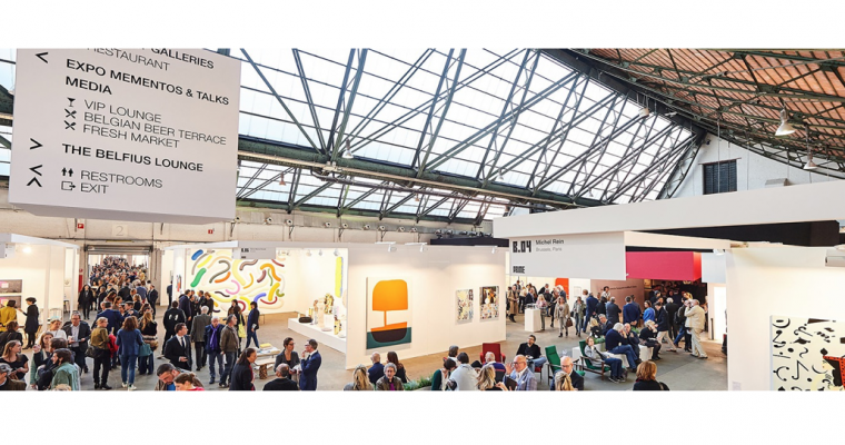 19▷22/04 – ART BRUSSELS 2018 – TOUR & TAXIS BRUXELLES