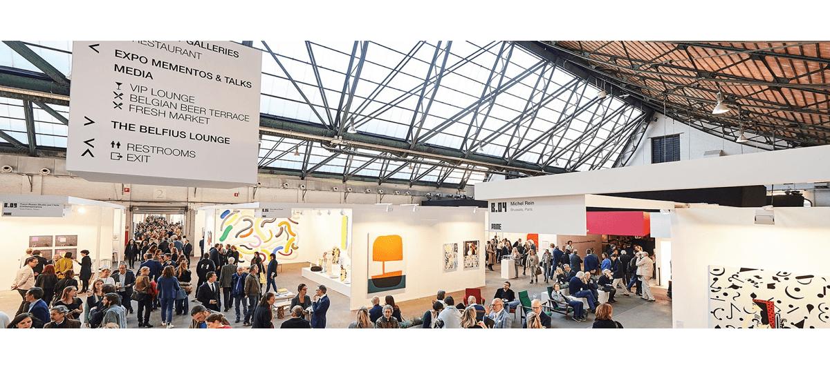 19▷22/04 – ART BRUSSELS 2018 – TOUR & TAXIS BRUXELLES