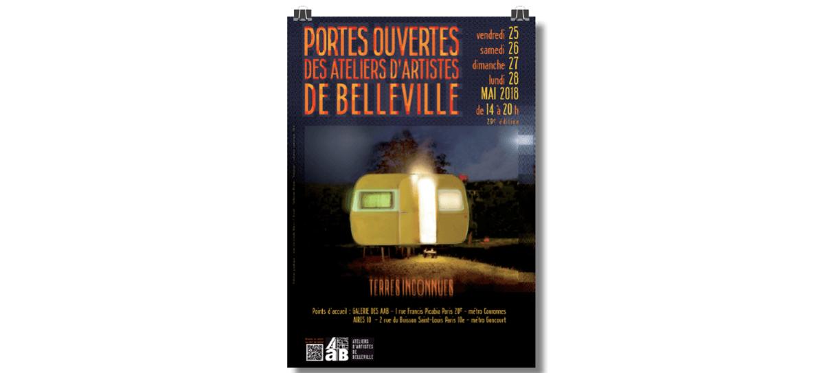 25▷28/05 – PORTES OUVERTES DES ATELIERS D'ARTISTES DE BELLEVILLE 29e édition