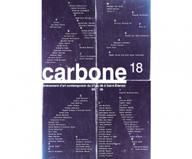 27/04▷06/05 –  CARBONE 18 – SAINT-ETIENNE