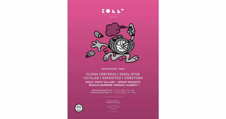 13▷15/04 – KOLLY GALLERY -SWISS WATCHES – ESPACE OPPIDUM PARIS