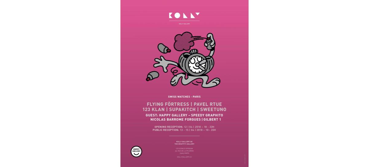 13▷15/04 – KOLLY GALLERY -SWISS WATCHES – ESPACE OPPIDUM PARIS