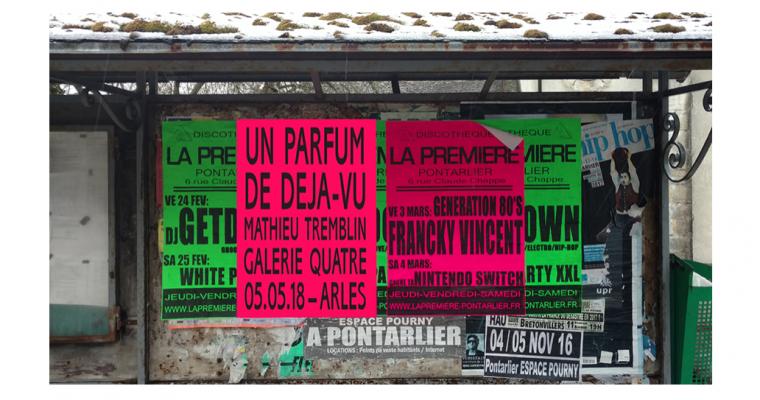 O5/05▷23/06 – Mathieu Tremblin – Un parfum de déjà-vu – Galerie Quatre Arles