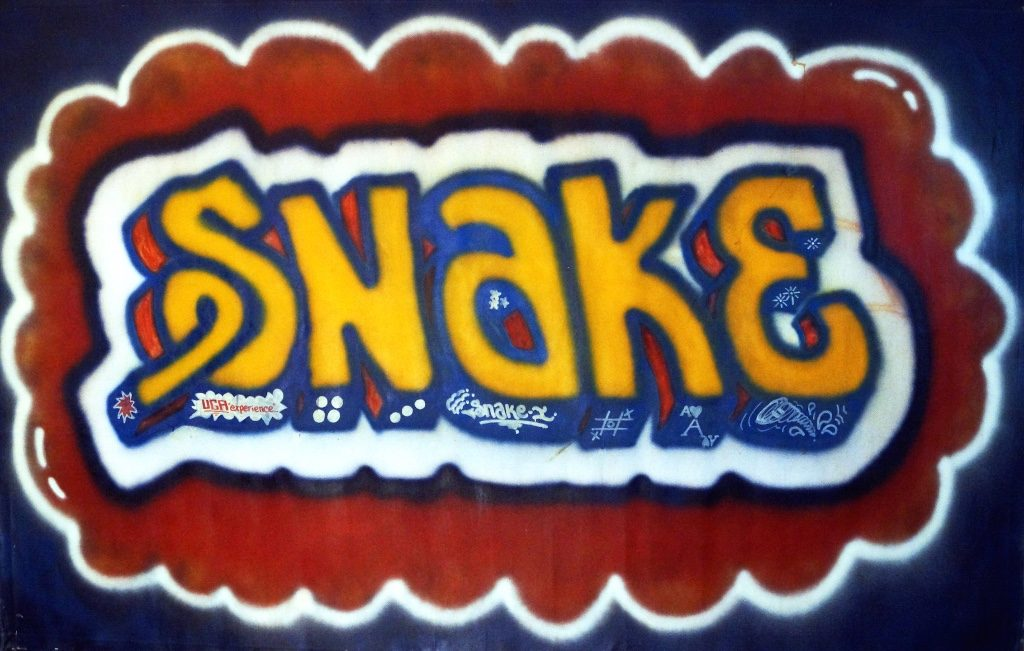 SNAKE1_The Founding Fathers Of Graffiti_Speerstra Gallery_Paris