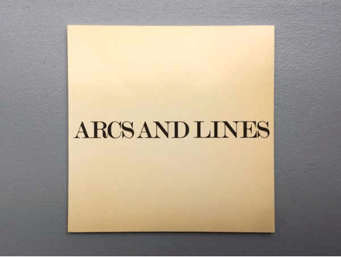 Sol LeWitt, Arcs and Lines, 1974_exposition_Florence Loewygallery