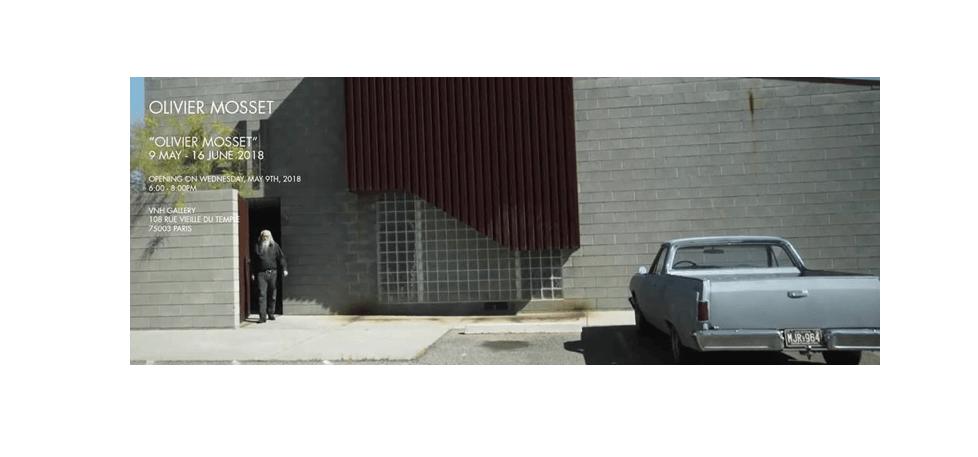 09/05▷16/06 – « OLIVIER MOSSET » – OLIVIER MOSSET – VNH GALLERY PARIS